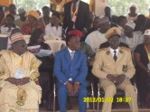 MINESUP(middle)UN rector(Left)Governor Abaka (right)