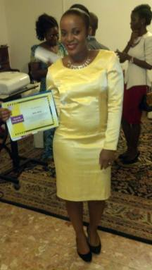 MEFO pose After Prize Award