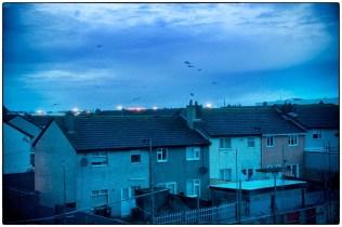 Tesco and houses, Dublin, Eire, 2007 :: copyright Richard Hanson
