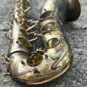 LX Saxophone in production