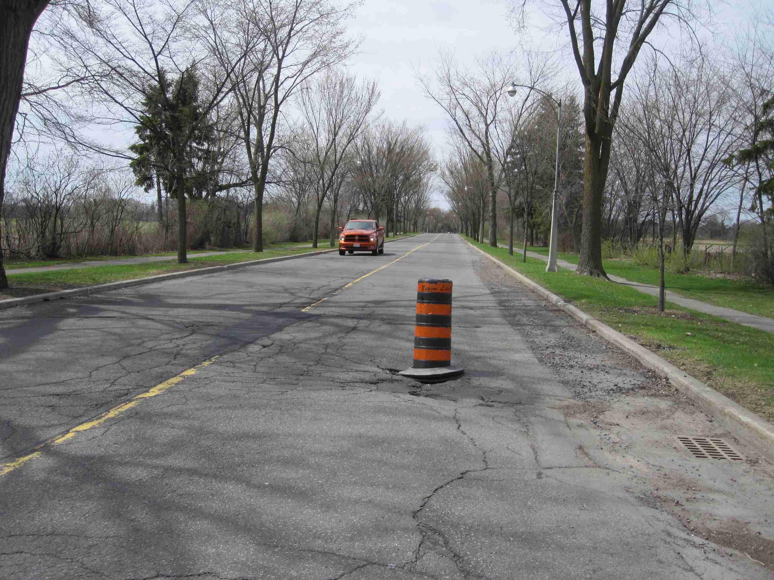 NCC Scenic Road Barrel – last week of April 2011
