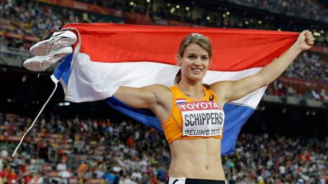 Dafne is an athlete from the Netherlands who holds the 200 meter world record sprint (photo Lee Jin-man/AP)