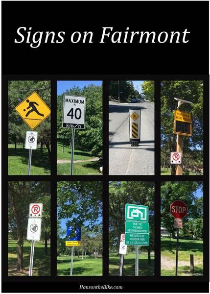 Poster Fairmont signs