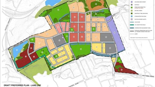 plan of Rockcliffe airbase