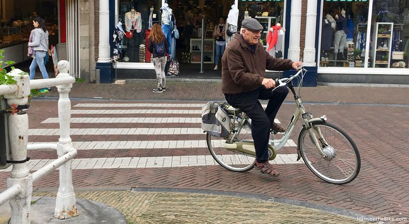 People of all ages feel comfortable taking the bike somewhere