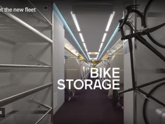 Via adds bike storage to its new trains.