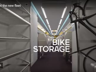 Via adds bike storage to its new trains.
