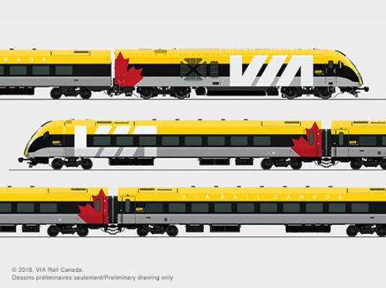 New via trains