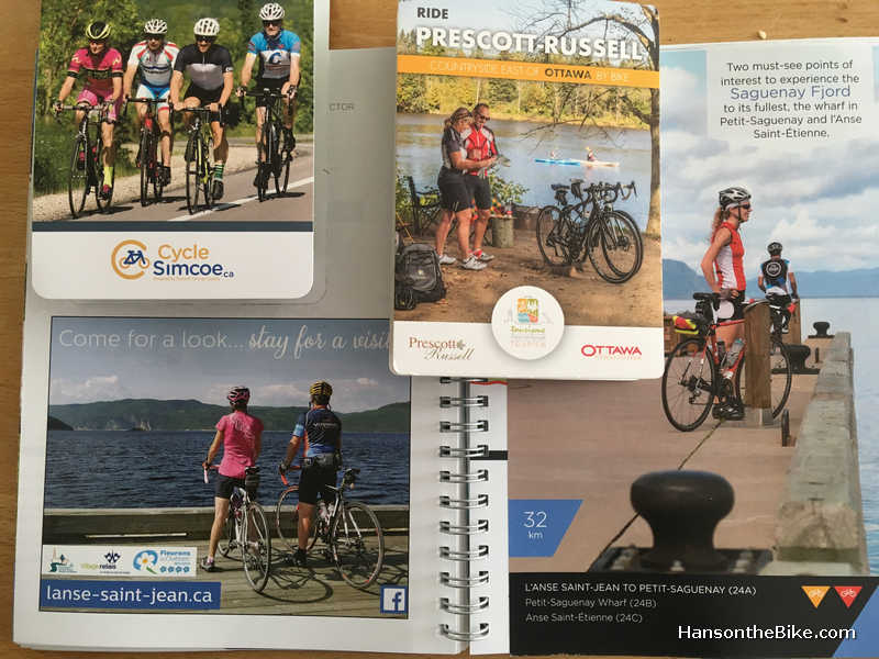 examples of bike maps.