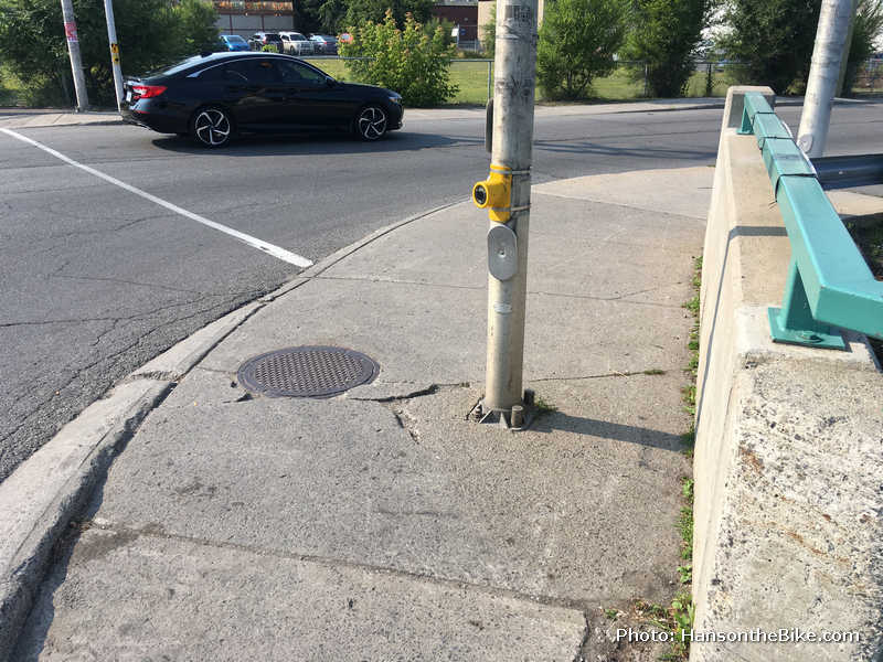 Decrepit  sidewalk