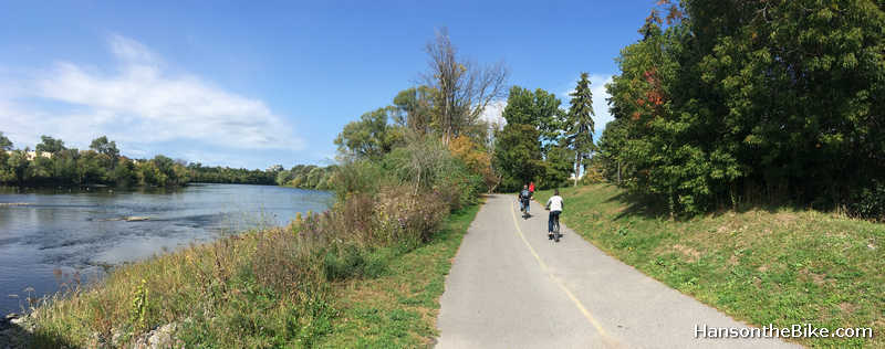 Rideau River pathway
