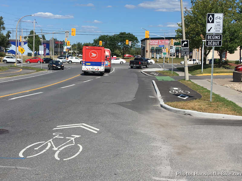 Nepean Trail intersection