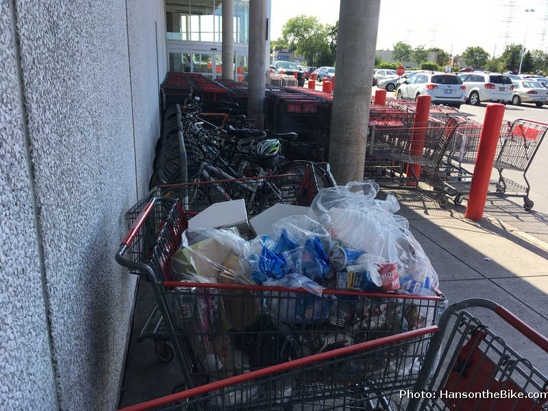 Costco bike parking