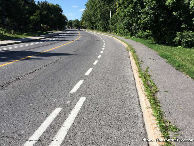 Nepean Trail lane