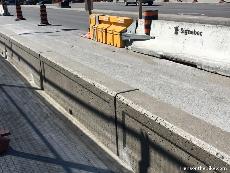 Portage bridge barrier
