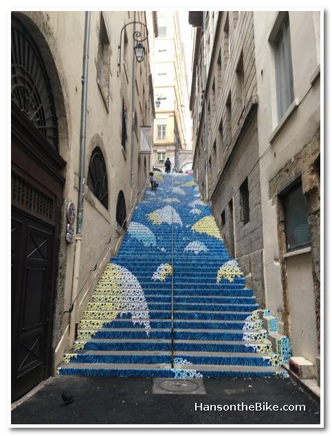 Street art in Croix Rousse