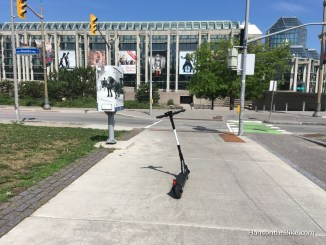 E-scooter in Ottawa