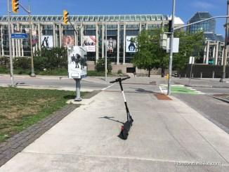 E-scooter in Ottawa