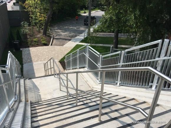 stair case in Jackie Holzman bridge