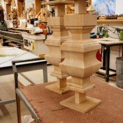 Large Round Kitchen Table Sink Sizes Hanson Woodturning