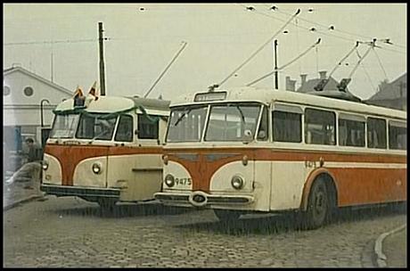 Hanspaulská historie ve fotografii – trolejbusy