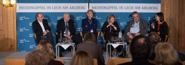Hans Stoisser bei Europäischer Mediengipfel Lech