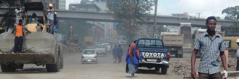 dynamische Realwirtschaft in Äthiopien
