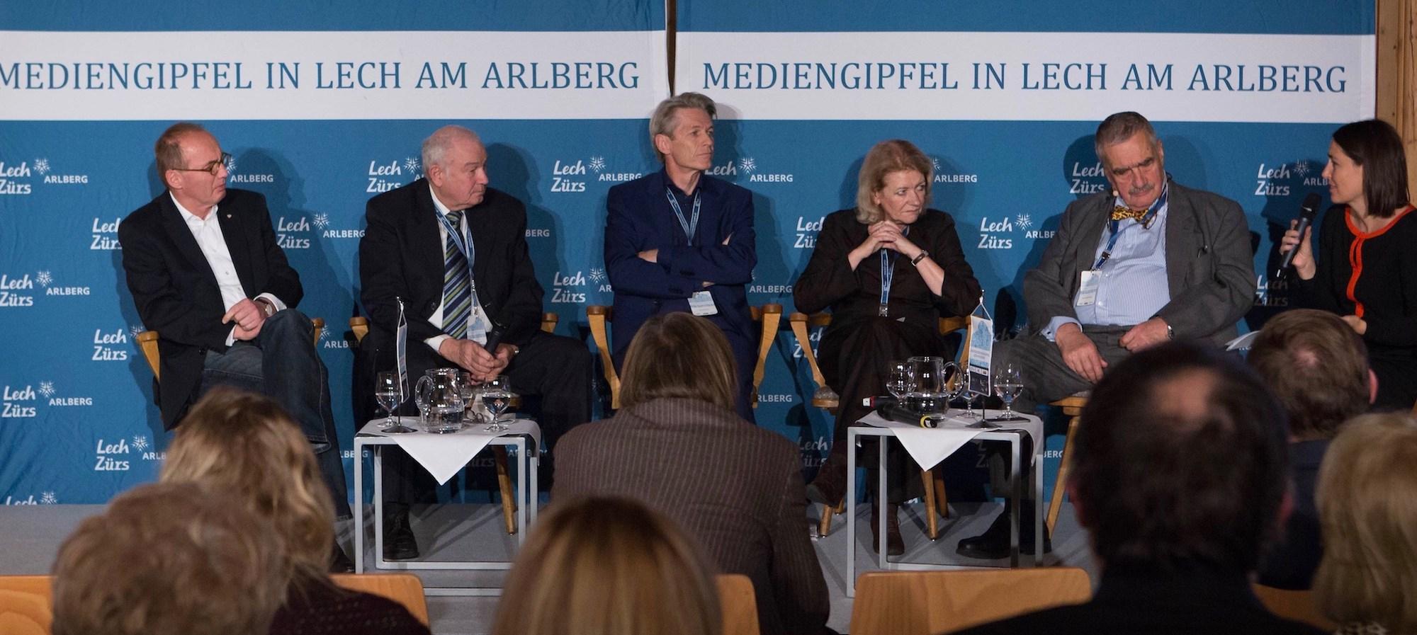 Europäischer Mediengipfel 2016 in Lech