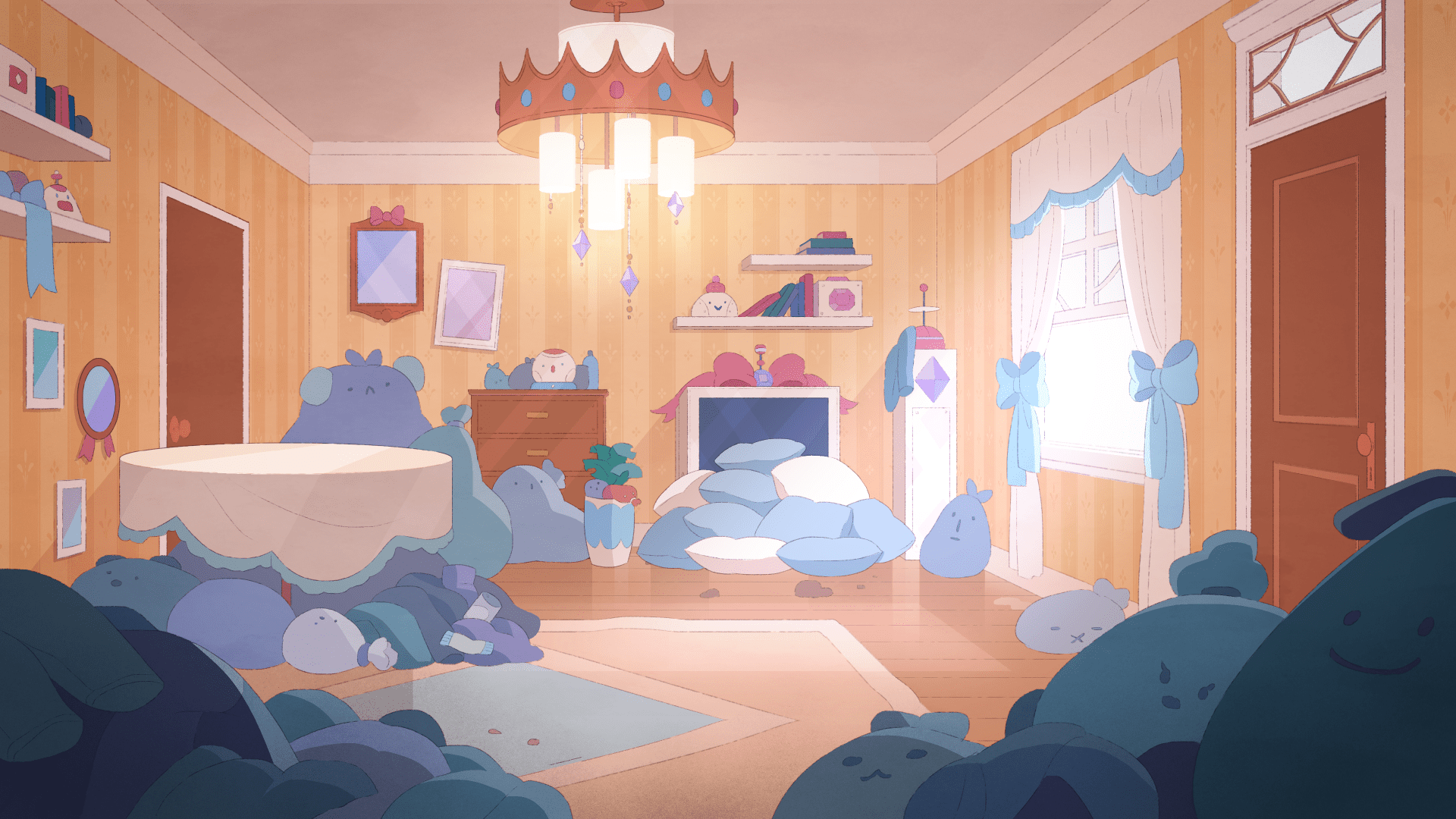 Pc Fall Wallpaper Bee And Puppycat Hans Tseng