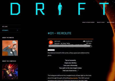 """DRIFT"" – Soundtrack to a submission for the ""Star Citizen"" video game"