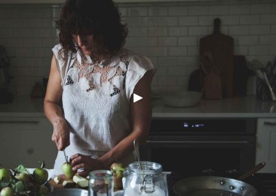 """""""A Cook's Remedy: Into the Orchard"""" by Common Thread Creative"""