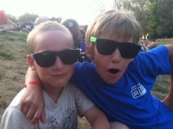 boys in sunglasses