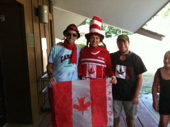 canadian party night