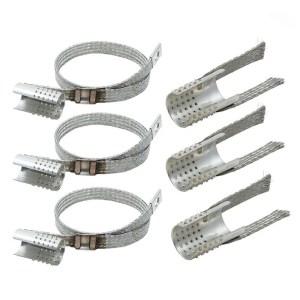 Erdungsset für Polymerkabel / Schirmadapter