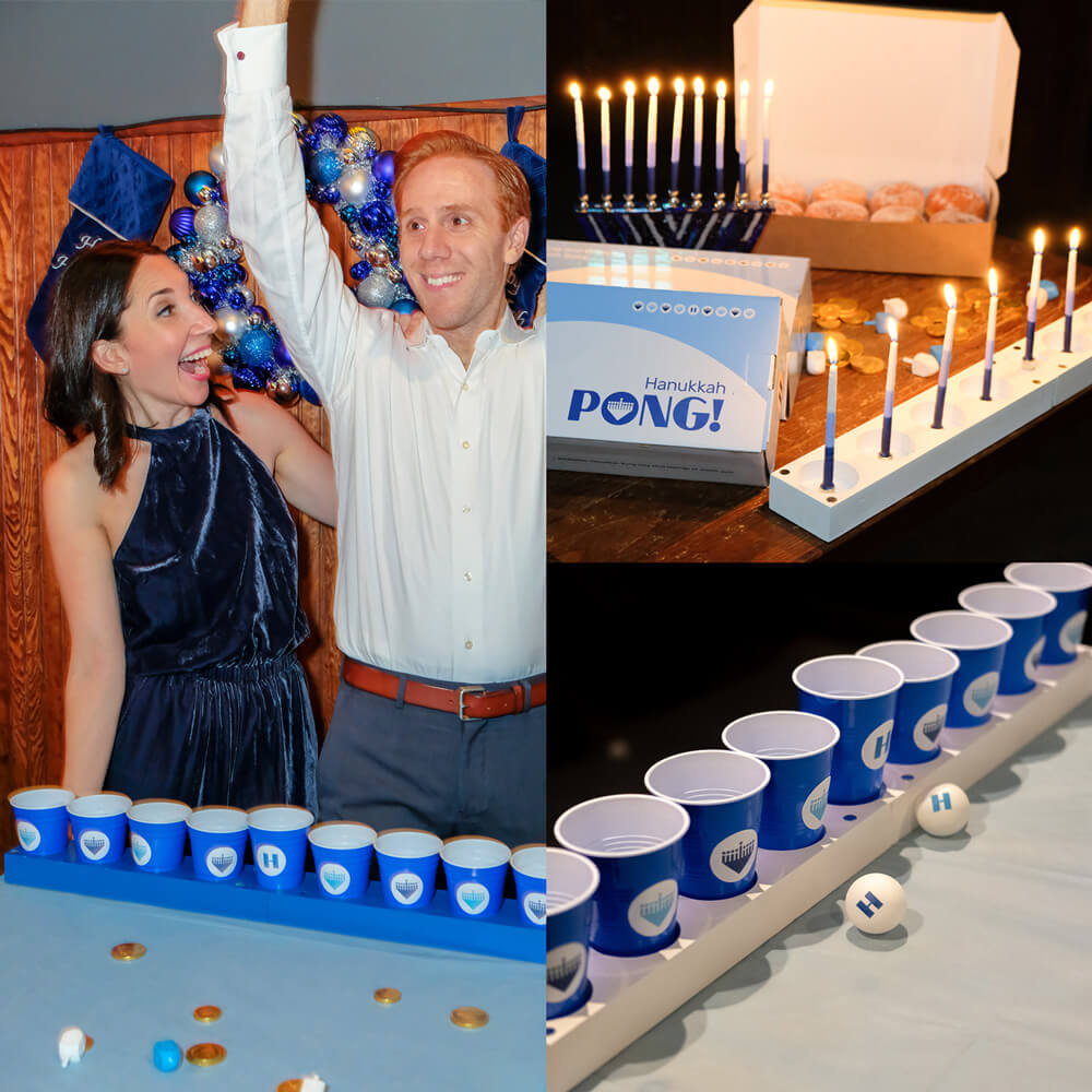 Hanukkah gifts Rachel and Mitch