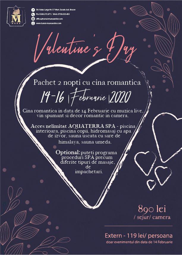 Oferta Valentine's Day 2020 la munte