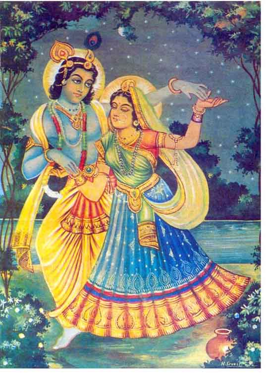 RARE PHOTOGRAPHS OF SHRI BHAIJI AND RADHA KRISHNA  (5/6)