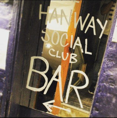 The Hanway Social Club Bar Tottenham Court Road London Hire