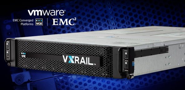 "EMC and VMware made ""VxRail"" Appliance"