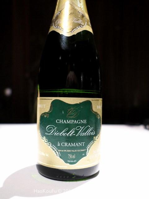 Diebolt-Vallois 白中白香檳,優雅明亮的口感,同時具有相當的復雜度