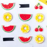 DIY עוגיות פירות קיץ