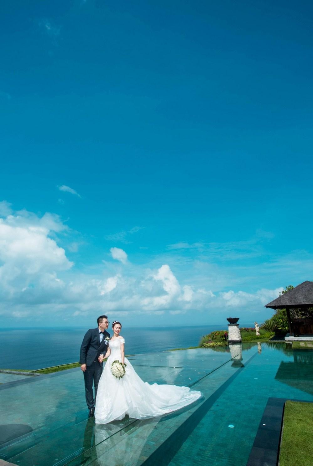 バリ島 Bali    海外の結婚式の前攝 寫真集