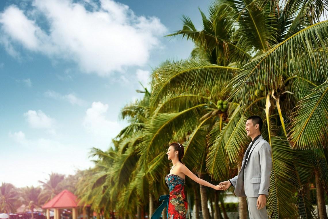 バンコク Bangkok   海外の結婚式の前攝 寫真集