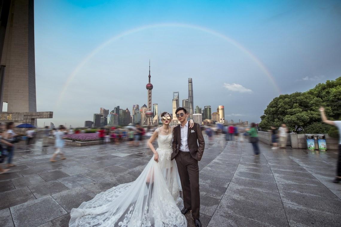 海外婚紗 旅行婚紗 婚紗攝影 shanghai09