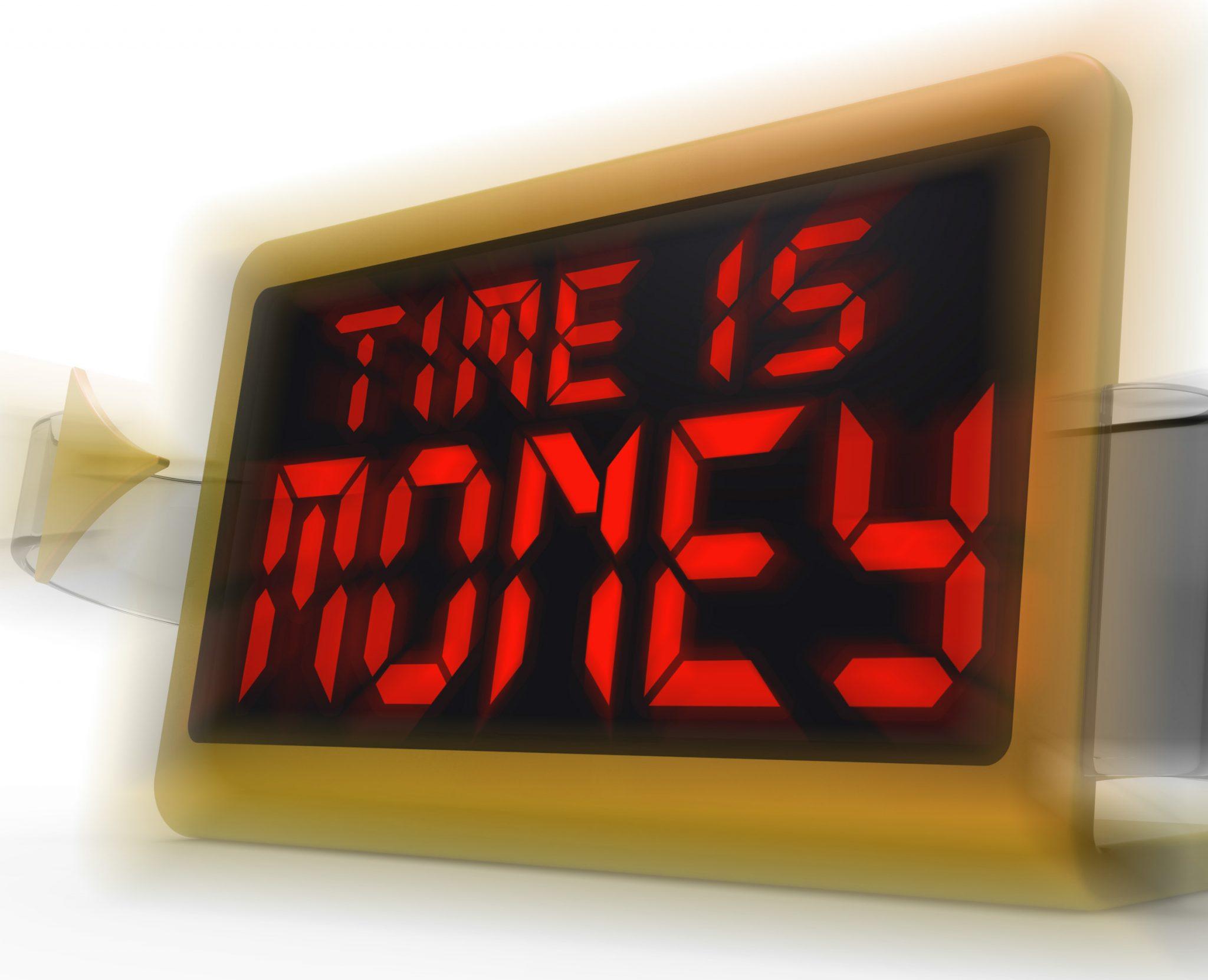 זמן = כסף