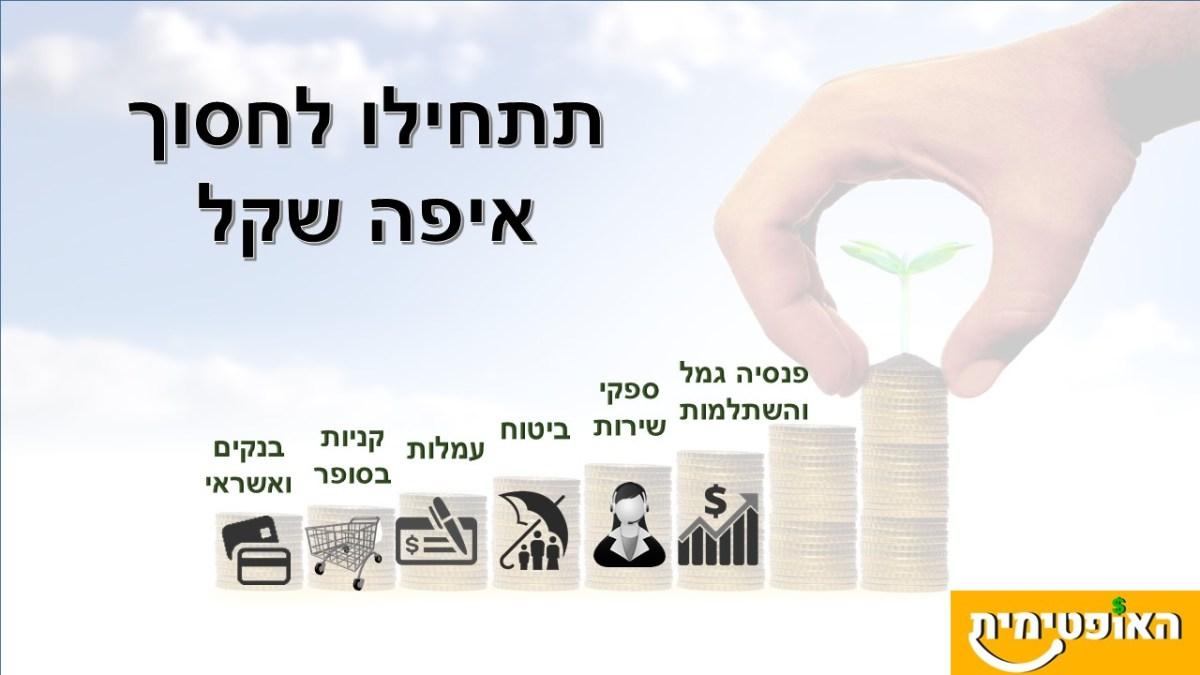 איך לחסוך כסף בקלות