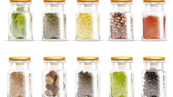 100023herbs-spices-jars-icon-set-vector-13699959