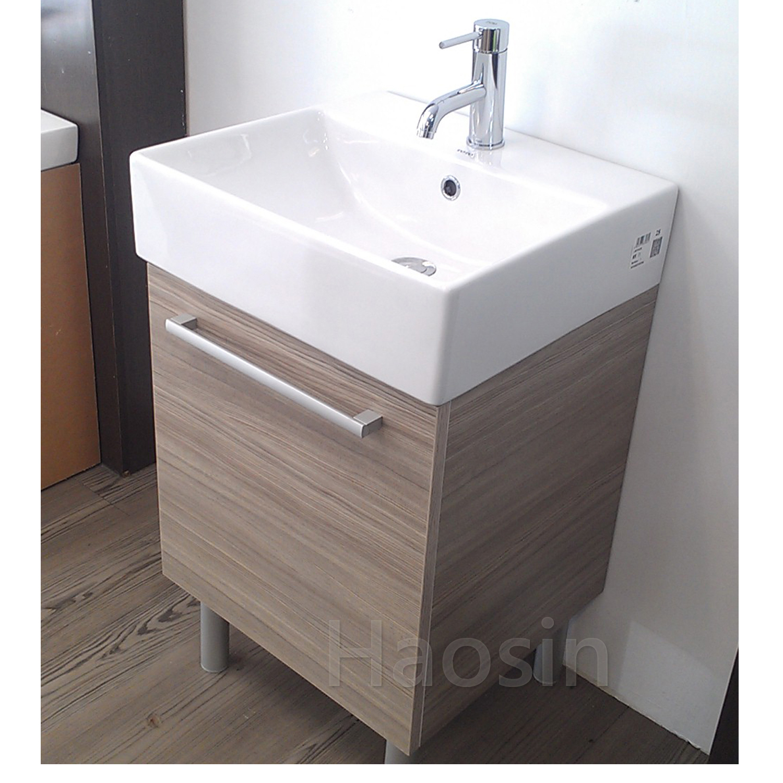 TOTO-710臉盆浴櫃組50cm | 昊鑫衛浴