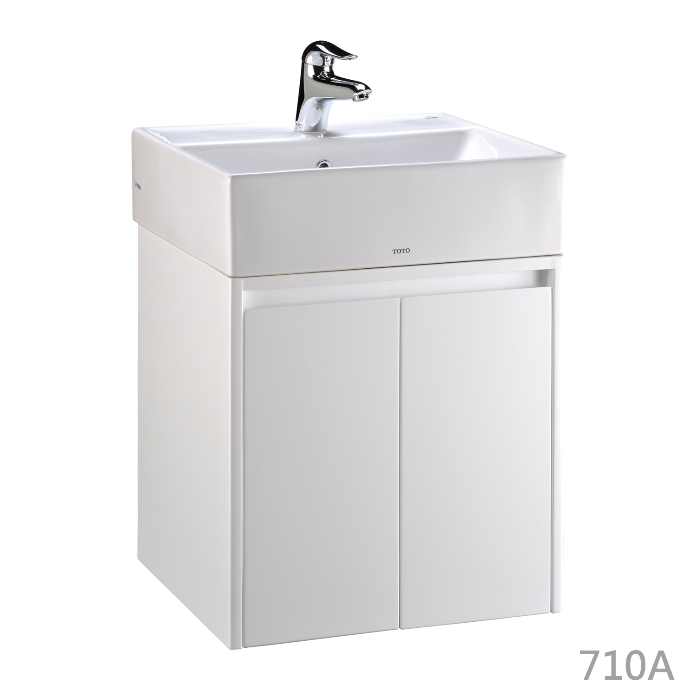 TOTO-L710CGUR臉盆浴櫃組710A–50cm – 昊鑫衛浴