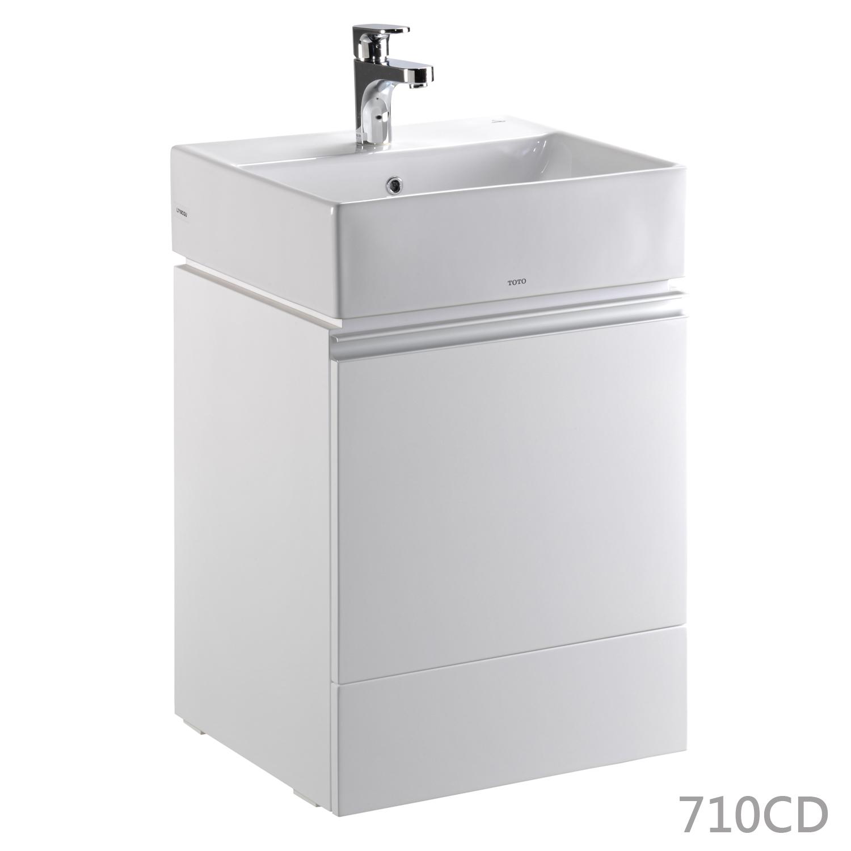 TOTO-710臉盆浴櫃組50cm – 昊鑫衛浴